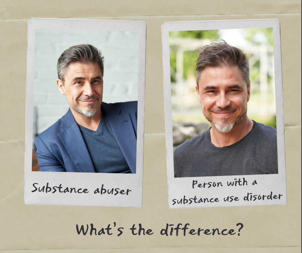 What is the difference between these two people? Do you find yourself viewing this person differently based on the words used to describe him?